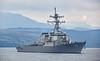 USS The Sullivans (DDG68) at Rhu - 4 October 2015