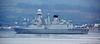 Andrea Doria (D553) off Cloch Point - 26 September 2015