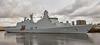 HDMS Absolon (L16) at Braehead - 8 April 2016