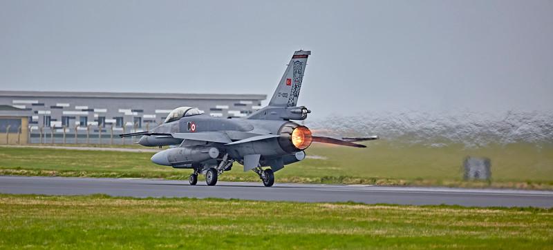 Turkish F-16 (07-1002) at Lossiemouth - 12 April 2016