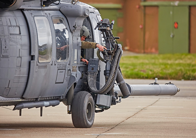 USAF Sikorsky Pave Hawk at Lossiemouth - 13 April 2016