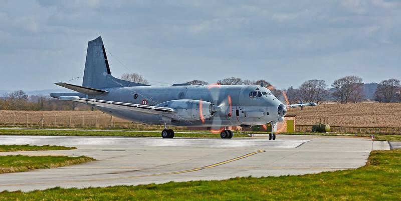ATL3 Atlantique Maritime Patrol Aircraft at Lossiemouth - 12 April 2016