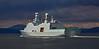 HDMS Absolon (L16) passing Port Glasgow - 10 April 2016
