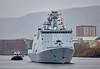 HDMS Esbern Snare (L17) at Braehead - 8 April 2016