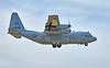US Navy (USN) Lockheed C-130T Hercules (AX 4995) at RAF Lossiemouth - 12 April 2016