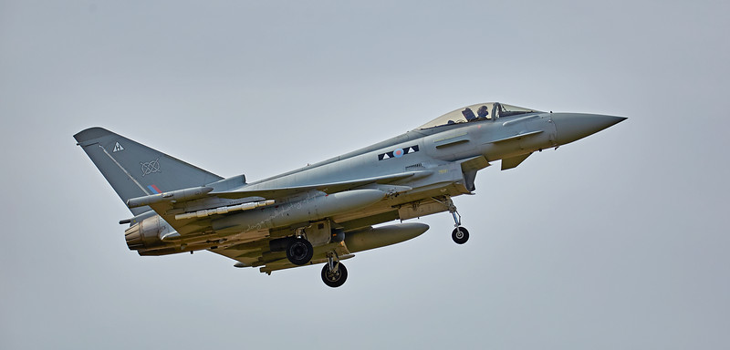 Eurofighter Typhoon FGR.4 ZK300/H 2 Squadron (ZK300)<br />  at Lossiemouth - 12 April 2016