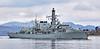 HMS Iron Duke (F234) departing Faslane Naval Base - 10 April 2016
