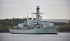 HMS Monmouth (F235) off Rhu Spit - 7 October 2016