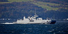 HNoMS Maloy (M342) off Cove, Argyll - 6 October 2016