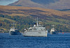 Minehunters departing Faslane - 9 October 2016