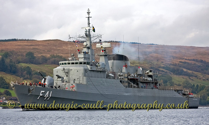 BNS Defensora Brazilian F41 Frigate