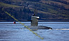 Dutch Submarine - Dolfijn (S808) - Heads up to Faslane