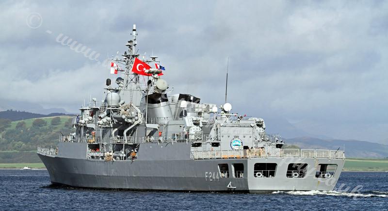 Turkish Navy Frigate - TCG Barbaros - F244