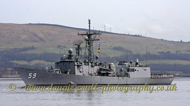 USS Kauffman - OLIVER HAZARD PERRY Class Frigate