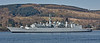 HMS Cumberland (F85) at  Faslane Naval Base - 12 April 2010