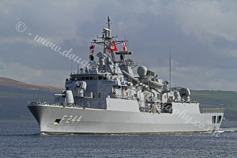 Turkish Navy Frigate - TCG Barbaros - F244