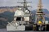 USS VICKSBURG (CG69) - Ticonderoga Class Guided Missile Cruiser - Glen Mallon Jetty