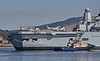 HMS Ark Royal (R07) at  Faslane Naval Base - 11 April 2010