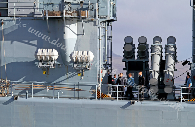 German Navy Frigate - Bremen - F207