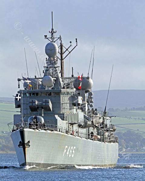 Greek Navy Frigate - HS Themistoklis - F465