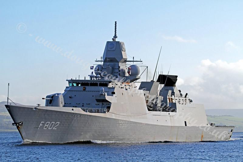 Royal Netherlands Navy - HNLMS De Zeven Provinciën - F802
