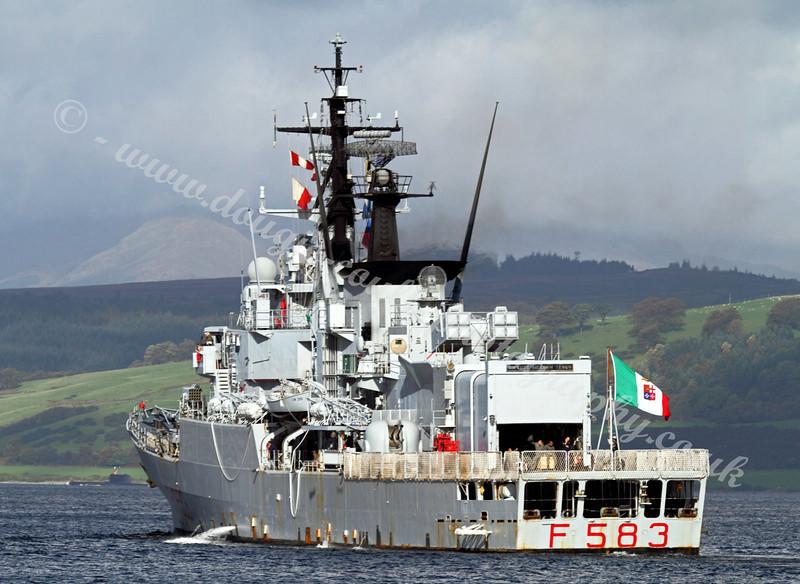 Italian Navy Frigate -  Aviere - F583