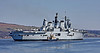HMS Ark Royal (R07) at  Faslane Naval Base - 11 April 2010
