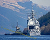 USS Vicksburg (CG69) - Ticonderoga Class Guided Missile Cruiser - Anglegarth Assists