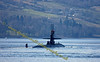 USS Pittsburg (SSN720) Nuclear Submarine - Arrives at Faslane Naval Base