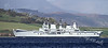 HMS Ark Royal Departs Faslane