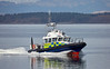 MOD Police Boat 'Barra' off Greenock - 24 March 2017