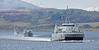 HNoS Hinnoy, HMS Ramsey, and HNLMS Schiedam in Convoy off Greenock - 23 March 2017