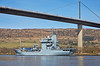 FGS Donau (A516) passing Erskine - 26 March 2017