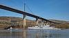 HNoS Hinnoy  (M34) at Erskine Bridge - 26 March 2017