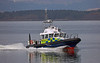 MOD Police Boat 'Barra' off Rhu Spit - 24 March 2017