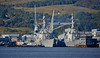 USS Mitscher (DDG-57) and USS Winston S Churchill (DDG-81) at Faslane - 21 September 2017