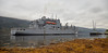 USNS Medgar Evers (T-AKE-13) at Glen Mallan - 20 September 2017