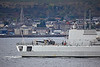 BNS Louise-Marie (F931) passing Cloch Point, Gourock - 28 September 2017