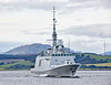 FS Provence (D652) off Greenock - 28 September 2017