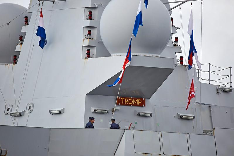 'HHNLMS Tromp' (F803) at Rhu - 28 September 2017