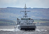 HNOMS Rauma (M352) off Greenock - 3 October 2017