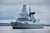 HMS Dragon (D35) off Roseneath - 9 October 2017