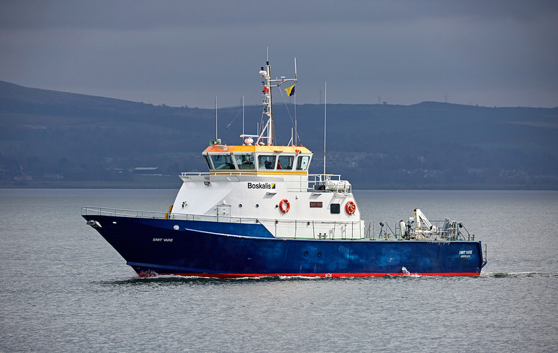 Support Vessel 'Smit Yare' off Greenock - 19 April 2018