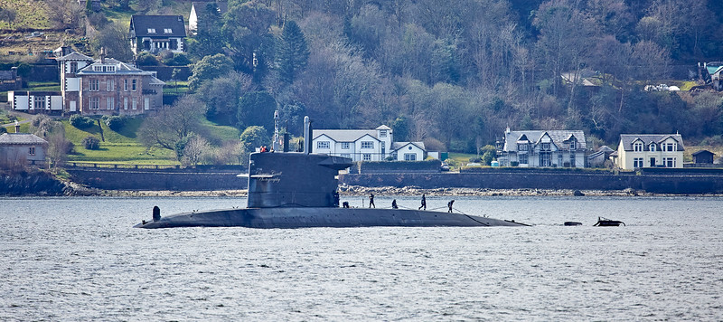 HNLMS Zeeleeuw (S803) in Long Long - 22 April 2018