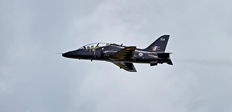British Aerospace Hawk T.1A (XX324) at Prestwick Airport - 27 April 2018
