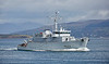 FS Andromede (M643) off Greenock - 20 April 2018