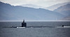 USS Newport News (SSN-750) off Cloch Point - 23 April 2018