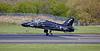 British Aerospace Hawk T.1A (XX239) at Prestwick Airport - 27 April 2018