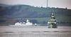 HMCS St Johns (FFH 340) passing Greenock - 19 April 2018