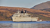 HMS Albion (L14) at Faslane - 31 March 2019